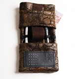 Pochette smartphone Skai marron multipoches T2 RS