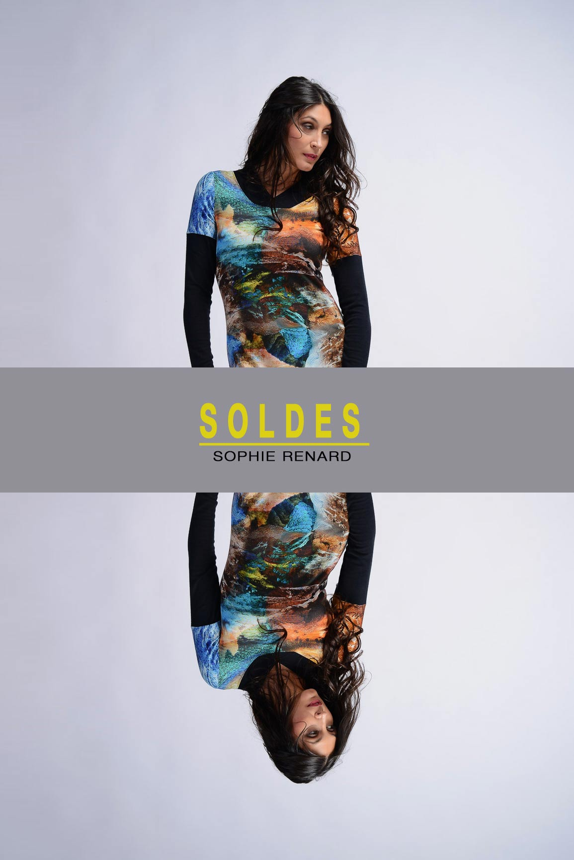 SOLDES ROBES COLOREES D