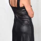 Robe noire stretch RAONI RS