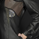 Manteau noir rock gothique original RS