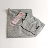Tshirt gris clair brillant chic sport RS