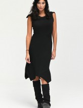 robe stylee maille noire NEO RS